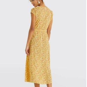 Draper James Dresses - Draper James floral button front dress S small
